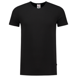T-shirt Elastaan Slim Fit V...