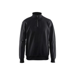 Sweatshirt 3369 halve rits
