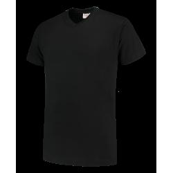 101007 T-shirt V hals TV190