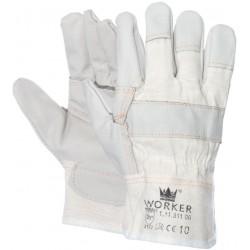 Meubellederen handschoen...