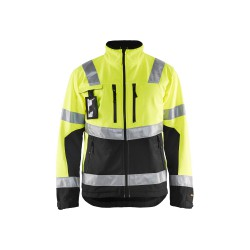4900 softshell jack high vis