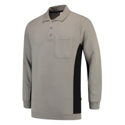 302001 Polosweater Bicolor...