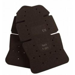 Kniestukken rubber Zwart