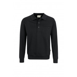 457 Polosweater met borstzak