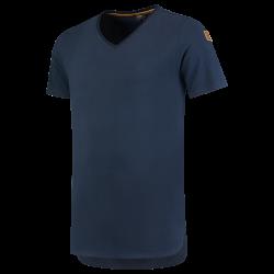 T-shirt premium V hals 104003