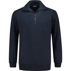 7702 zip sweater Navy L